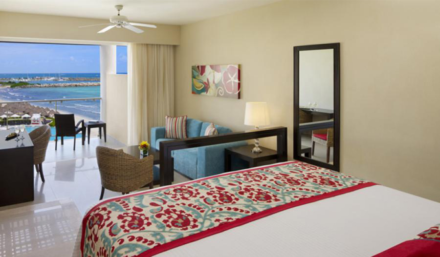 Junior Suite Ocean View - Dreams Jade Resort and Spa - Innovations in Psychotherapy Cancun 2022