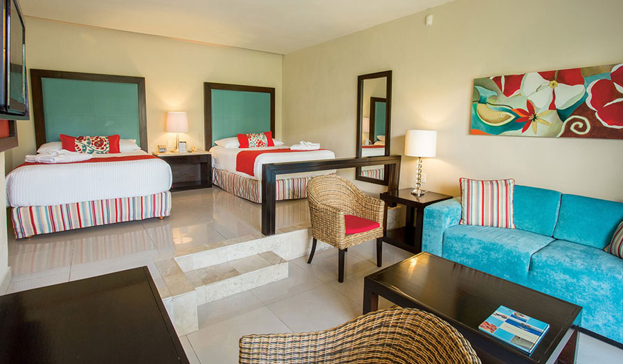 Junior Suite Tropical View - Dreams Jade Resort and Spa - Innovations in Psychotherapy Cancun 2022