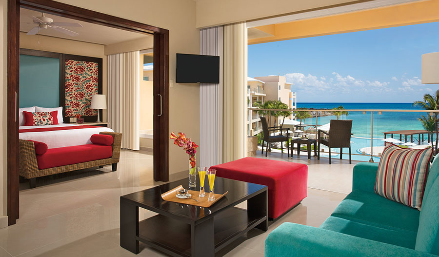 Preferred Club Suite Ocean View - Dreams Jade Resort and Spa - Innovations in Psychotherapy Cancun 2022